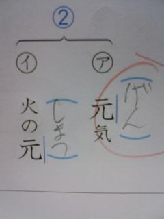 漢字の読みがな