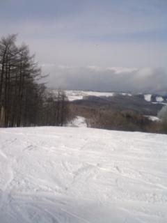 家族スキー旅行